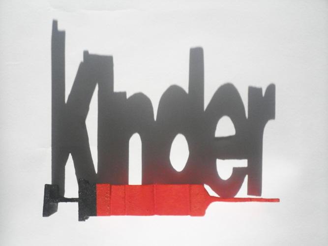 HFG Karlsruhe - Logo: FETTE KINDER