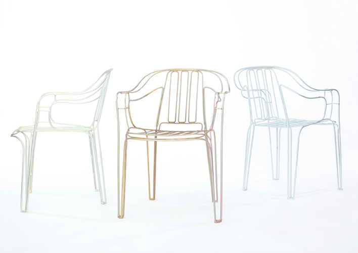 HFG Karlsruhe - Diploma: CHARLES WIRE CHAIR