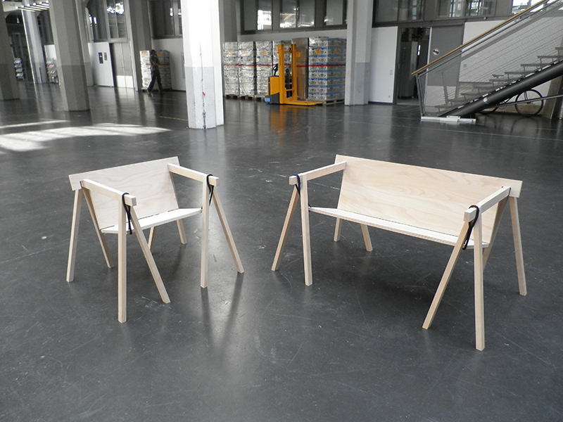 HFG Karlsruhe - Do We Need Another Chair: BOCKBANK